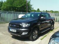 Ford Ranger Wildtrak 4x4 Double Cab low mileage Stonking value DIESEL 2016/16