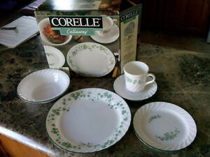 20 piece set Corelle Corning Ware