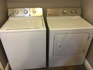 3 year old Maytag washer and dryer for sale!
