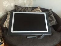 Philips TV Ambi Light 43 Glass frame + Glass TV stand