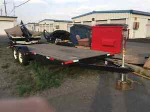 2008 Mirage 18' trailer with ramps