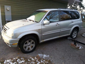 FOR SALE - Silver Grey Suzuki XL7