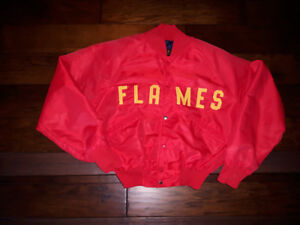 Flames Bonber Jacket