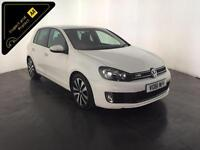 WHITE 2011 61 VOLKSWAGEN GOLF GTD 170 BHP 1 OWNER VW SERVICE HISTORY FINANCE PX
