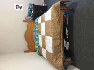 Selling full size mattress and bed frame