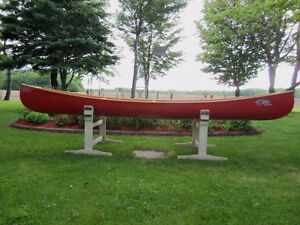 Brand New: Ribbed Cedar Canoes