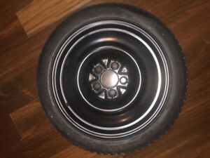 Spare Tire T125/70D15 on Rim not used for $60