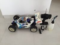 Kyosho Inferno MP-7.5 Sport/GS .21R an 1/8 scale off-road R/C nitro racing car