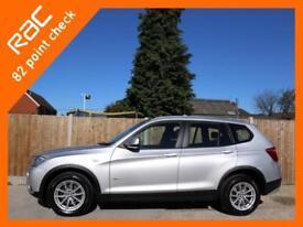 2012 BMW X3 xDrive20d SE Turbo Diesel 182 BHP 6-Speed Auto 4x4 4WD Sat Nav Bluet