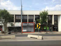 Open Your New Office or Retail Space on Trendy 124 Street