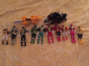Power Ranger Figurines Negotiable