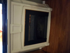 Quarrycast Electric Fireplace