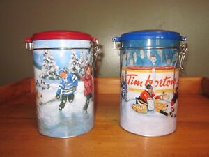 Limited Edition Collector Hockey Cannisters