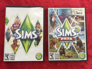 The SIMS 3 Computer Game, and The SIMS 3 Expansion Pack
