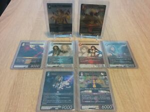 Final Fantasy TCG Opus I / II cards for sale