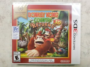 Donkey Kong Country Returns 3D Game