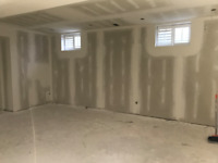 Basement Finishing - Contractor for framing, drywall, and taping