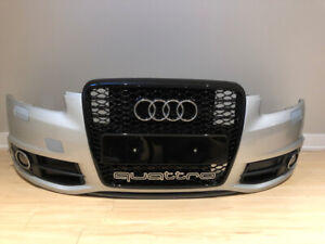AUDI A6 S LINE C6 4F 2005-2011 FRONT BUMPER and GRILL