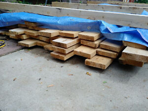Cedar Boards Planed One Side