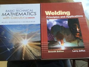 NBCC Weld tech program 2 main books