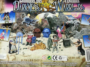 Darkness and Knight Warriors Play Sets