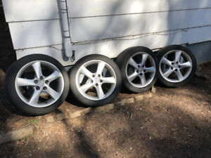 """Mazda 3/6 17"""" Alloy Rims with Tires"""