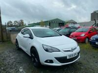 2015 VAUXHALL ASTRA GTC 1.6 TURBO 200 LIMITED EDITION 5DR 60,000 MILES F/S/H