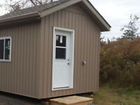 Custom Build Yard and garden Sheds. Insulted Camp Bunkies.