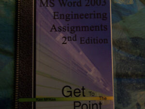 MS Word 2003 Engineering Assignments 2nd Edition