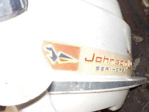 7.5 Johnson boat motor ...2 of them
