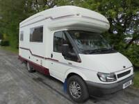 AUTOSLEEPER POLLENSA, 5 BERTH, END KITCHEN, LOW MILEAGE, GOOD CONDITION