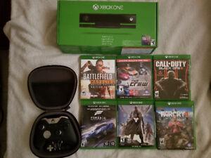 Xbox one elite controleur, kinect et jeux