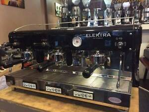 Cheap 3 Group Elektra Commercial Coffee Espresso Barista Machine Marrickville Marrickville Area Preview