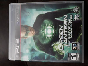 Green Lantern : Rise of the Manhunters PS3 - $5.00