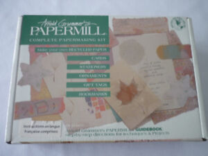 COMPLETE PAPERMAKING KIT – BRAND NEW, SEALED IN BOX