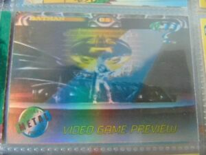 Carte Batman Forever Metal 1995 Video Game preview A-1