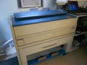 Wide format copier/scanner