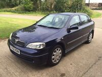 2001 VAUXHALL ASTRA 1.6 AUTOMATIC