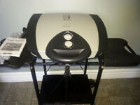LRG. GEORGE FOREMAN GRILL WITH STAND