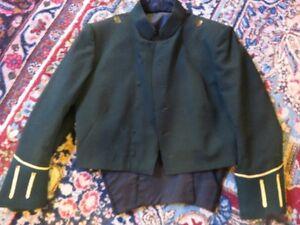 LAKE SUPERIOR SCOTTISH REGIMENT GREEN DRESS JACKET NO BUTTONS, S