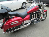 2014 TRIUMPH ROCKET 3 TOURING ABS WARRANTY TOURING TRUNK
