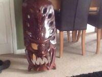 Large tribal type mask