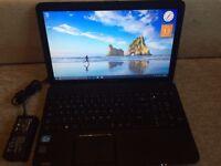 Toshiba laptop, 3 gb RAM, Intel core i3 2nd generation ,very fast .. WoOoW