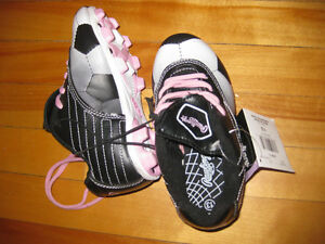 Girls size 13 soccer cleats
