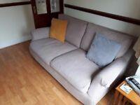 £30 - Large Fabric Sofa
