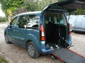 image for Peugeot Partner 1.6 BlueHDi Tepee Euro 6 Wheelchair Accessible Vehicle