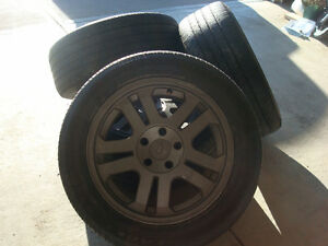 235/55R17 set of 4 all season tires
