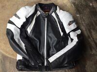 RST leather jacket