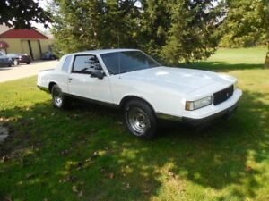 Theft recovered 1987Chevrolet Monte Carlo LS