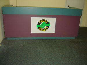 $500 · Store front Counter Made out of solid plywood and arbri